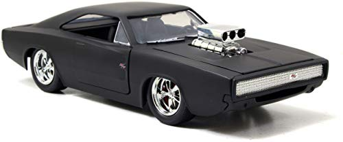 Jazwares Fast and Furious – Doms Dodge Charger, 97174, Escala 1/24