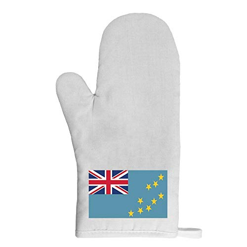 Mygoodprice Ofenhandschuh Topflappen Flagge Tuvalu