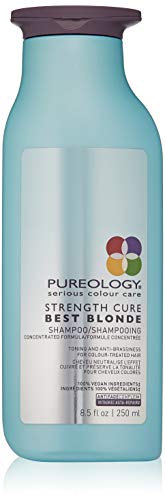 Pureology Strength Cure Best Blonde Purple Shampoo | Restore & Tone | Sulfate-Free | Vegan | 8.5 oz.