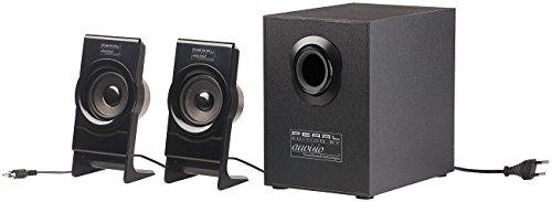 auvisio Basslautsprecher: Klangstarkes 2.1-Lautsprecher-System MSX-225 mit Subwoofer, 35 Watt (2 1 Soundsystem)