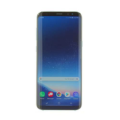 Samsung Galaxy S8 Plus 64GB Verizon & GSM Unlocked 4G LTE - Coral Blue (Renewed)