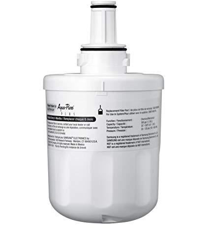 Samsung HAFIN2/EXP Wasserfilter mit Kennnummer der Ersatzpatrone DA29-00003G