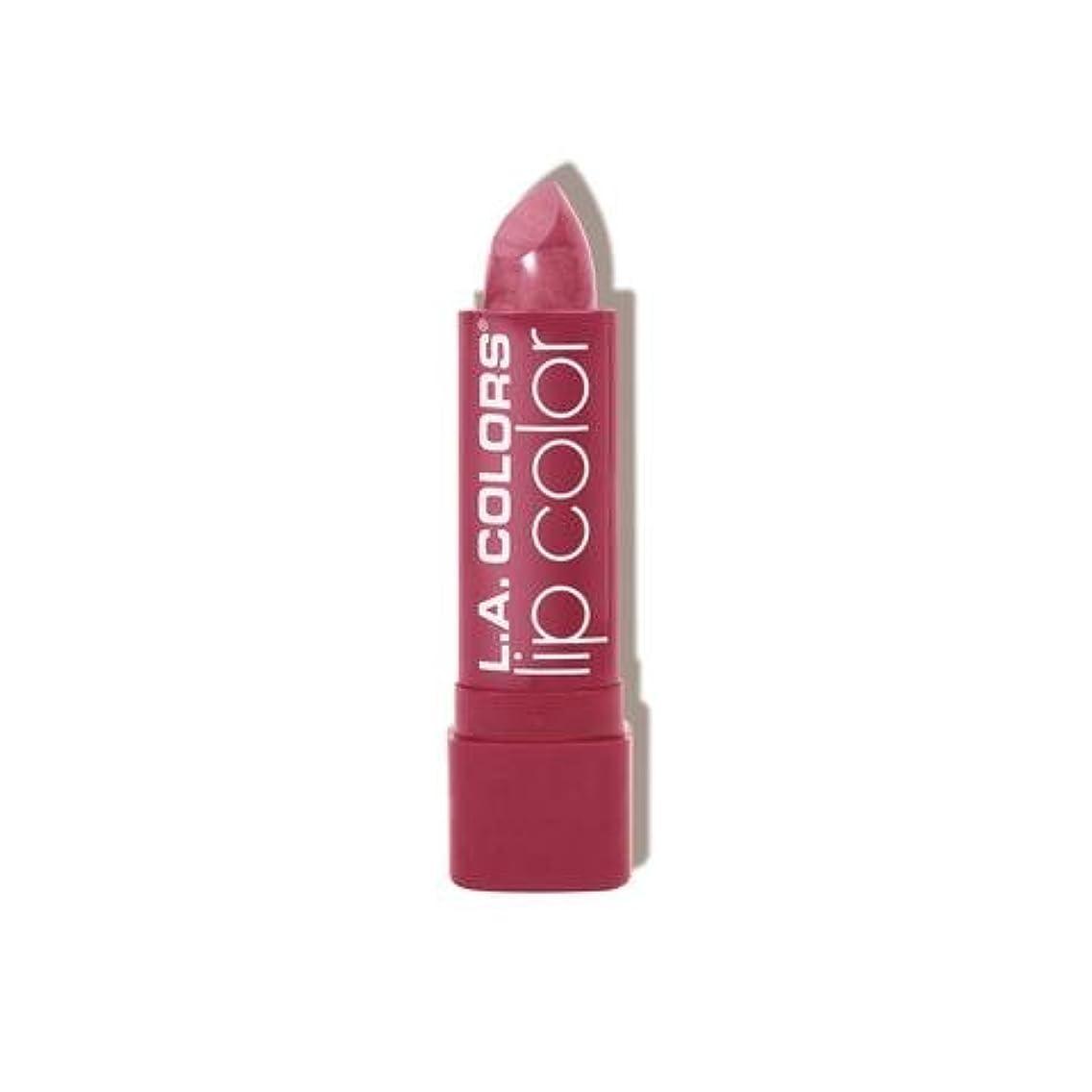 区かすかな呼びかける(6 Pack) L.A. COLORS Moisture Rich Lip Color - Pink-A-Boo (並行輸入品)