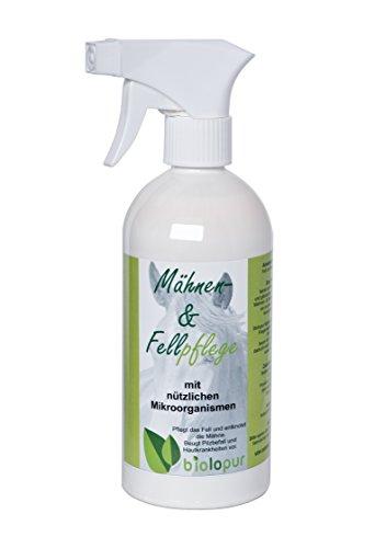 Biolopur | Mähnenspray & Fellpflege - 500ml Fertiglösung | Fellglanzspray Pferd