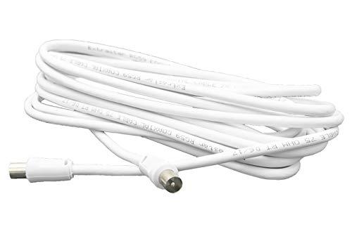 Antennekabel, 1,5 m, coaxiaal mannelijk voor tv-verlenging