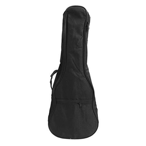 Ukulele-Gitarrentasche 4-String-Gitarrentasche mit Verstellbarer Rucksack-Schultergurt - 21 Zoll