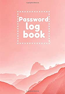 Password log book: Password log book: high quality logbook to protect names of users and passwords, lost ID and keep priva...