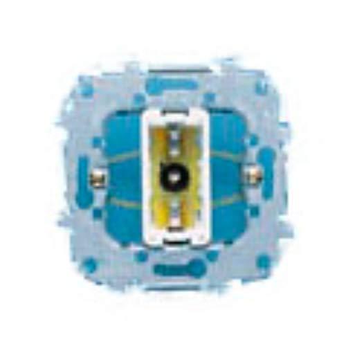 Señalizador luminoso, 250V, para lámparas tipo BA9S de neón, mecanismo compatible con tapas 8280, 5580 y 8480, 2 x 7 x 7 centímetros, color gris (referencia: 8180)
