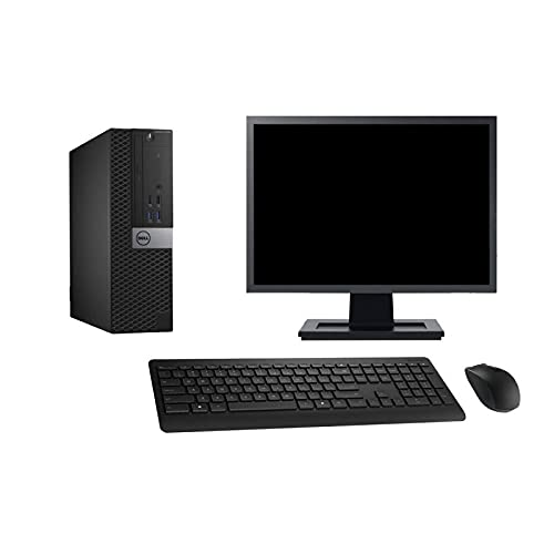 Dell PC 3040 SFF - Ordenador de sobremesa (19 pulgadas, i3-6100 RAM 16 GB, disco de 500 GB, HDMI, Windows 10 Wi-Fi)