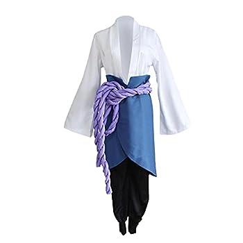 Uchiha Sasuke Costume Cosplay from Anime Naruto Shippuden Third Generation for Exhibition Halloween Christmas Party
