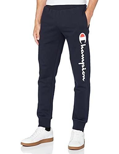 Champion Uomo - Pantaloni Classic Logo - Blu, S