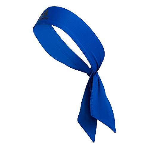 adidas Diadema Unisex Alphaskin con Lazo, Color Azul y Negro, Talla única