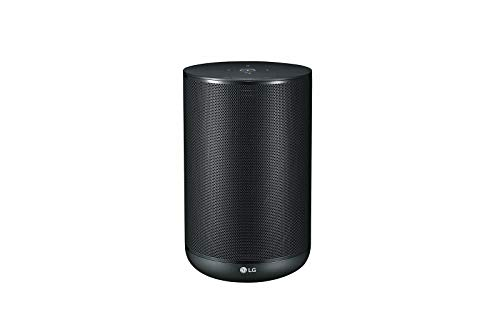 LG XBoom AI ThinQ WK7 Bluetooth Speaker with Built-in Google Assistant (Black)