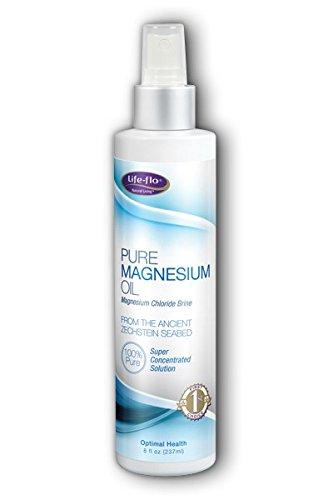 Pure Magnesium Oil Life Flo Health Products 8 oz(236.6 ml) Oil