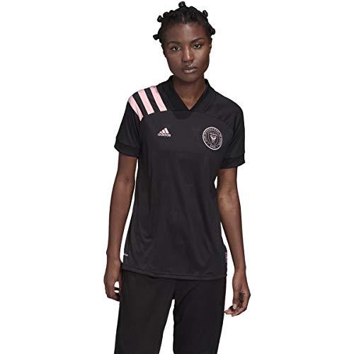 adidas Inter Miami Women's 2020-21 Away Jersey (Women's US Size Large) Black/Pink