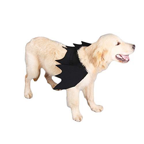N / A Disfraces De Halloween De La Mascota Perro, Alas De Murciélago Trajes De Disfraces para Perros Ropa De Disfraces Perros Medianos De Halloween
