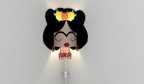 ILUMCREA- Lámpara Pared - Frida Kahlo - luz led