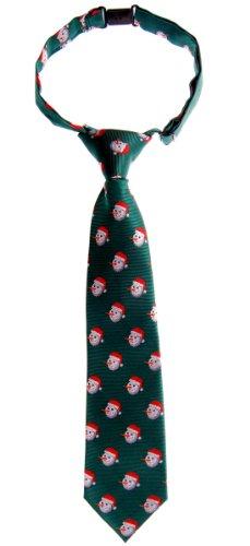 Retreez Weihnachten Happy Schneemann Woven Epoint Boy 's Tie–verschiedenen Farben Gr. 100 cm, grün