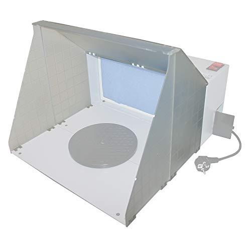 Wiltec Airbrush 420 Gehäuseteile Farbnebel Absauganlage Entlüftung Zubehör
