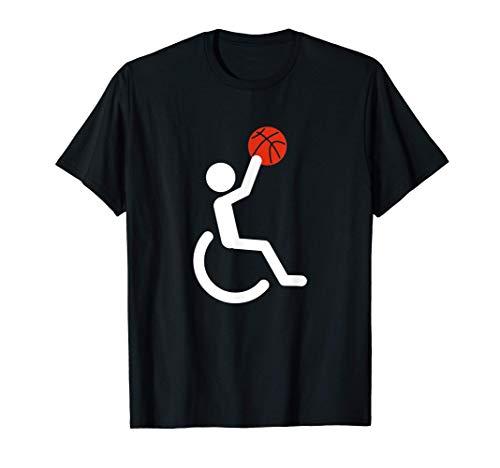 Rollstuhl Basketball Sport Behinderung Aufklärung T-Shirt