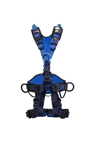 Irudek 100409900006 anticaídas Wind Blue 3 (S/M) arnés para trabajo en altura de gama superior, Azul