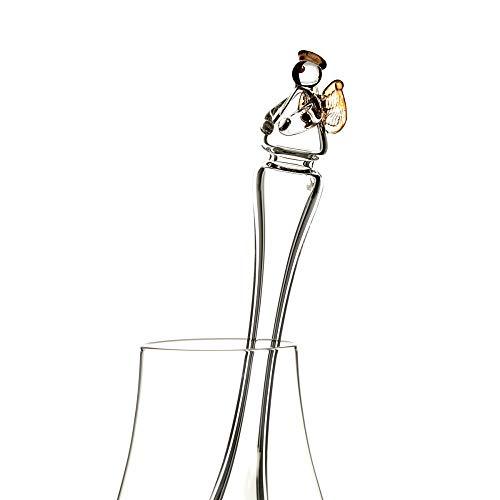 Whisky Wasser Pipette aus Glas - Schottischer Engel - Handgefertigt in Schottland
