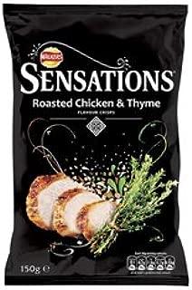 Walkers Crisps Walkers Sensations Roasted Chicken & Thyme (12 X 150G Bags)
