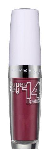 Maybelline New York Make-Up Lippenstift Superstay 14h Megawatt Lipstick Persistantly Pink / Dunkles Pink mit 14 Stunden Halt, 1 x 3,5 g