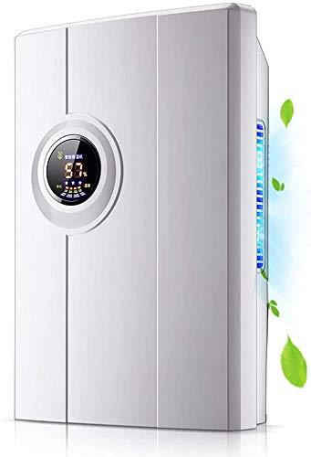 Waterreservoir Smart Control Quiet Compact elektrisch met vloeibare kristalweergave en voor automatische uitschakeling keuken, slaapkamer, kelder, caravan, kantoor, garageontvochtiger