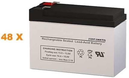 Para Systems Minuteman CP 10000 Max 69% OFF Batteries Regular discount - Replacement Set UPS