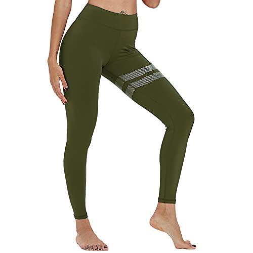 Hhwei Leggings Mujer Mallas Pantalones Deportivos Anticeluliticos Alta Cintura Fitness Control la Barriga
