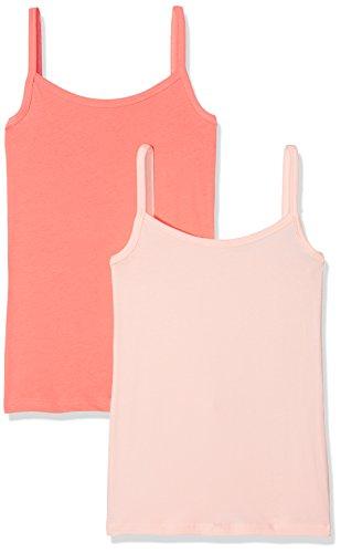 Schiesser Mädchen Unterhemd Multipack 2 Pack Spaghettitops, 2er Pack, Mehrfarbig (Sortiert 2 901), 176