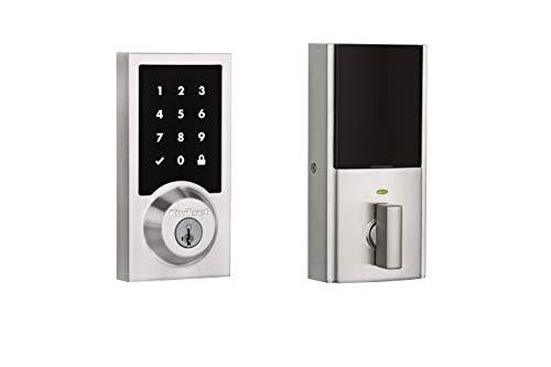 Kwikset 99190-003 Contemporary Premis Touchscreen Keyless Entry Smart...