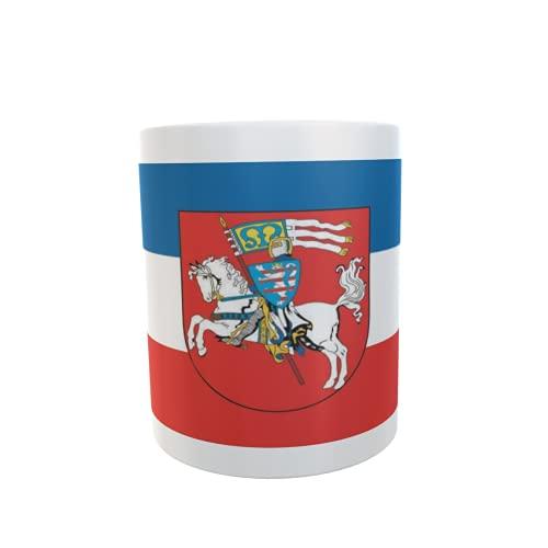 U24 Tasse Kaffeebecher Mug Cup Flagge Marburg