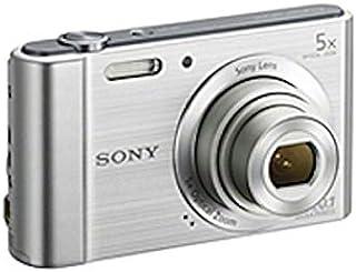 سوني كاميرا ديجيتال DSC-W800 (كاميرا بوينت اند شوت 20 ميجابيكسل فضي)