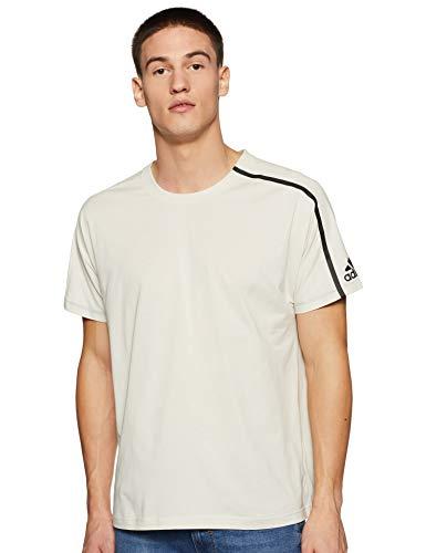 adidas Z.N.E T-Shirt (Short Sleeve), Hombre, Raw White, S