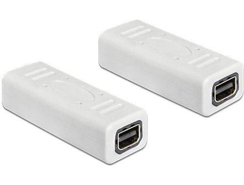 DeLOCK 65450 - Adaptador Mini DisplayPort, Blanco