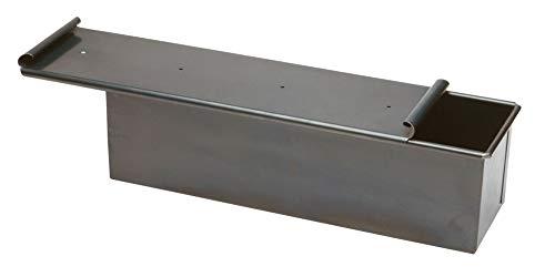 Pentole Agnelli COFE38BC30 Ferro Forma Pan Carrè con Coperchio, 30 x 10 cm