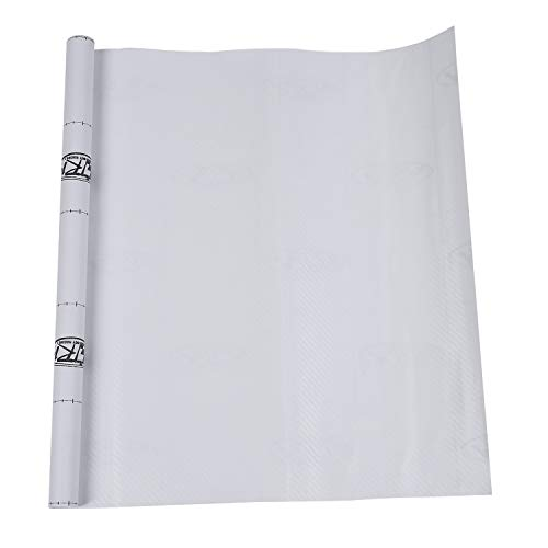 Dasorende 50 * 127cm 3D Carbon Fiber Vinyl Car Wrap Sheet Roll Film Sticker Decal White