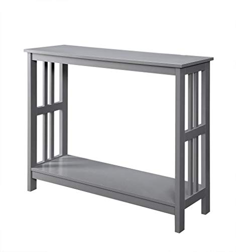 Convenience Concepts Mission Console Table, Gray