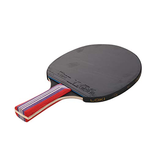 Find Bargain HUATINGRHPP Ping Pong Table Tennis Bat with Bag Ping Pong Paddle Racket Fast Speed Exce...