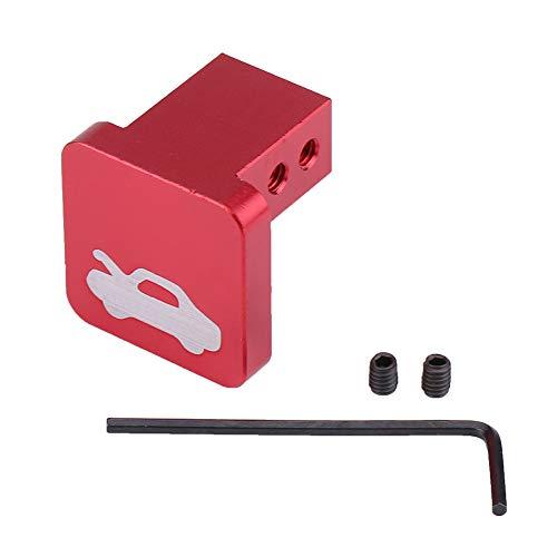 KIMISS Uchwyt ze stopu aluminium Zestaw naprawczy otwieracza do otwartej klamki do elementu CRV Ridgeline (czerwony)