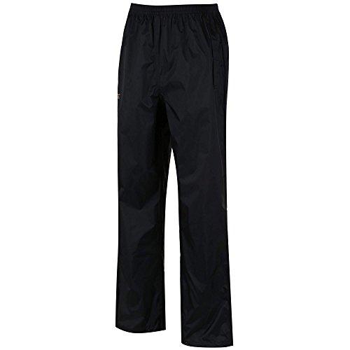 Regatta Men's Pack It Waterproof Over Trouser, Black, Large
