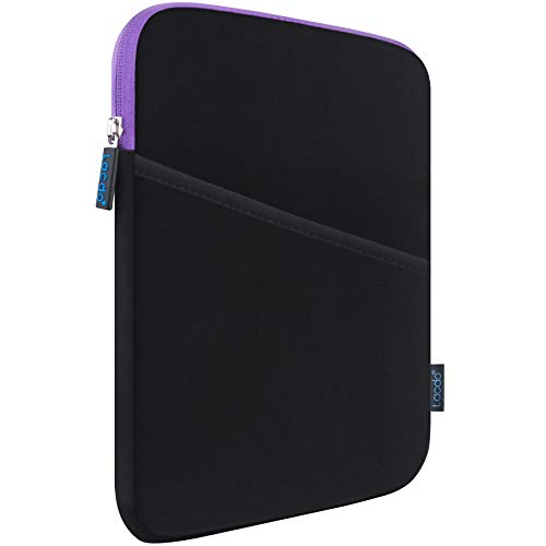 "Lacdo Tablet Tasche Schutzhülle Sleeve Case für 10.2 Zoll Neu Apple iPad, 10.9"" Neu iPad Air, 11\"" 10.5\"" iPad Pro, iPad Air 3, 9.7\"" iPad/iPad Air, 10.4\"" Samsung Galaxy Tab A7 Anti-Schock-Blase, Lila"