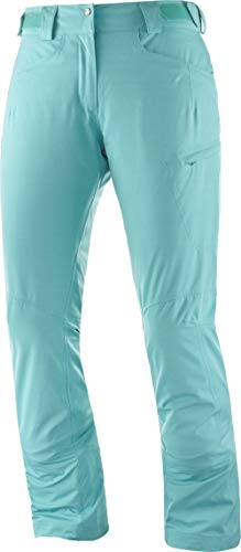 Salomon Damen Fantasy Pant W, Blau Türkis, X-Large/Regular