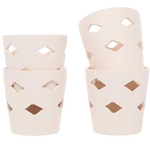 Baker Ross Keramik-Teelichthalter (4 Stück)