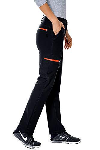 Nonwe Women's Outdoor Water-Resistant Fleece Lined...
