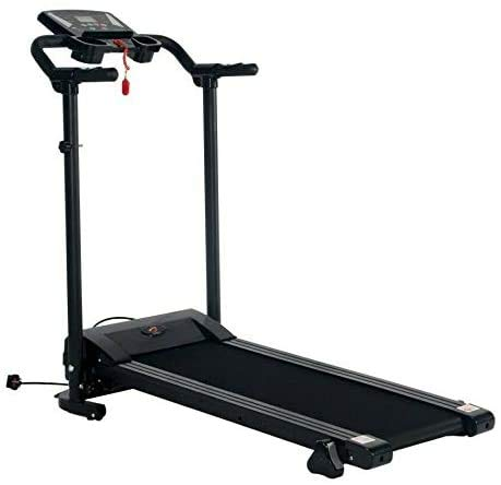 Electric Motorized Folding Treadmill Heavy Duty 1.5 HP Indoor Walking, Running, Jogging Exercise Gym Machine Easy Assembly | Best for Cardio Fitness Home and Office Fitness Workout