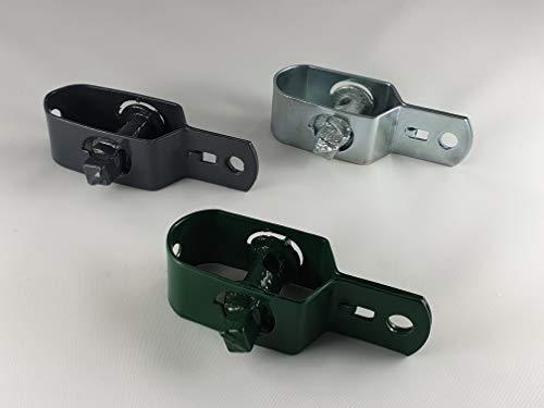 OuM - 5 tensores de Alambre, Color Verde Grafito, galvanizados, Verde
