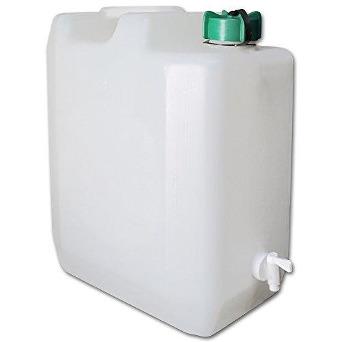 TW24 Wasserkanister mit Hahn Camping Wasserbehälter faltbar mit Größenauswahl (Wasserkanister 35L)